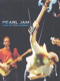 Pearl Jam - Live at the Garden DVD Cover Art