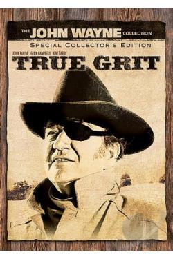 True Grit Special Collectors Edition DVD Cover Art