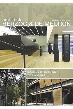 Architects Herzog and DeMeruon: Alchemy of Building and Tate Modern DVD Cover Art