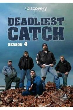 Deadliest Catch - The Complete Fourth Season DVD Cover Art