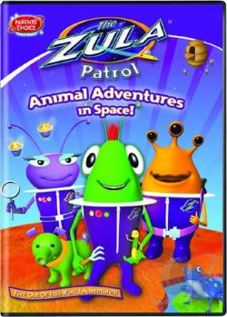 Zula Patrol: Animal Adventures in Space! DVD Cover Art