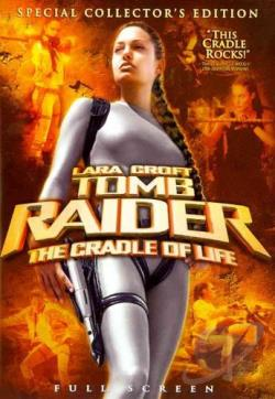 Lara Croft Tomb Raider: The Cradle of Life DVD Cover Art