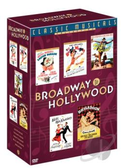Classic Musicals Collection DVD Cover Art