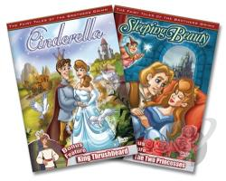 Fairy Tales Of The Brothers Grimm - Cinderella DVD Cover Art