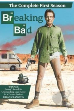 Breaking Bad - The Complete First Season DVD Cover Art