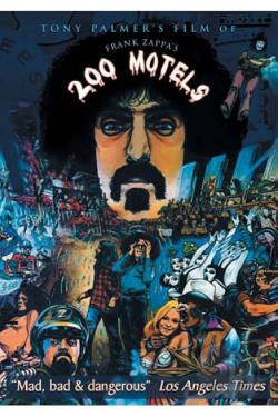 Frank Zappa: 200 Motels DVD Cover Art
