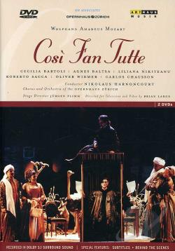 Mozart - Cosi Fan Tutte DVD Cover Art