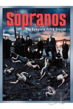 Sopranos - The Complete Fifth Season DVD Cover Art