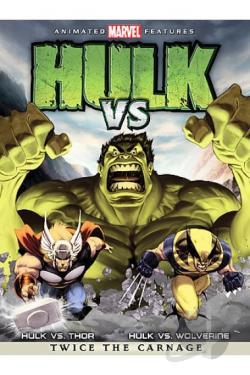 Hulk Vs. DVD Cover Art