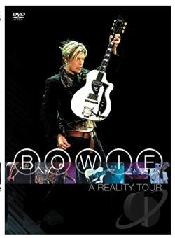 David Bowie - A Reality Tour DVD Cover Art