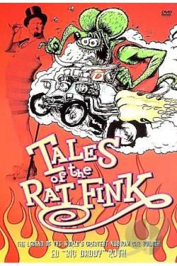 Tales of the Rat Fink DVD Cover Art