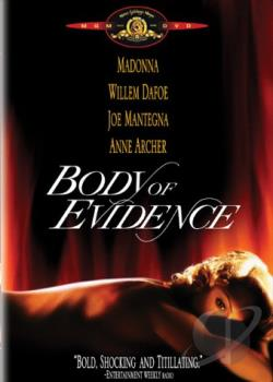 Body of Evidence DVD Cover Art