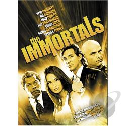 Immortals DVD Cover Art