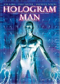 Hologram Man DVD Cover Art