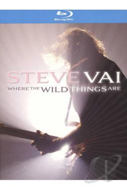 Steve Vai: Where the Wild Things Are BRAY Cover Art