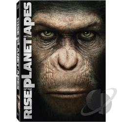 Rise of the Planet of the Apes DVD Cover Art