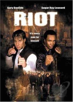 Riot DVD Cover Art