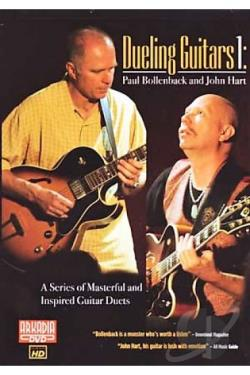Dueling Guitars 1: Paul Bollenback & John Hart DVD Cover Art