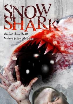 Snow Shark DVD Cover Art