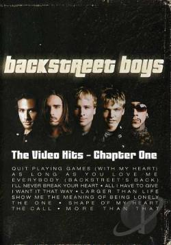Backstreet Boys - Greatest Hits: Chapter One DVD Cover Art