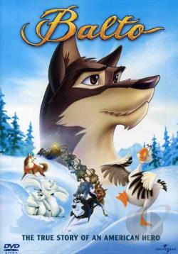 Balto DVD Cover Art