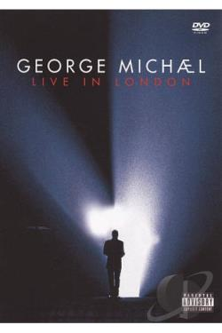 George Michael: Live in London DVD Cover Art