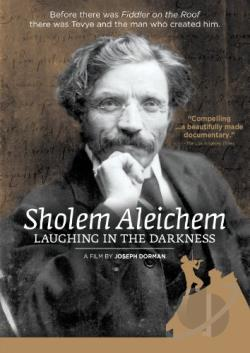 Sholem Aleichem: Laughing in the Darkness DVD Cover Art