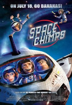 Space Chimps DVD Cover Art