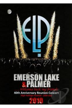 Emerson, Lake & Palmer: 40th Anniversary Reunion Concert DVD Cover Art