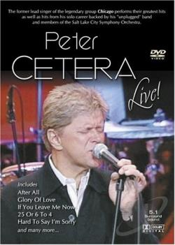 Peter Cetera - Live! DVD Cover Art