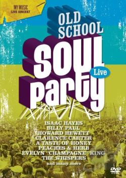 Old School Soul Party Live DVD Cover Art