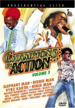 Champions in Action - Vol. 3 DVD Cover Art