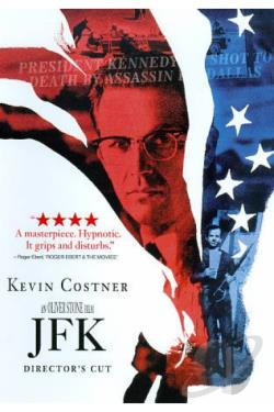 JFK DVD Cover Art