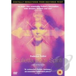 Juliet Of The Spirits DVD Cover Art