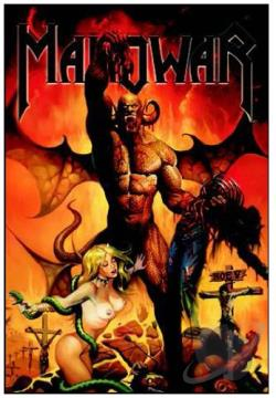 Manowar: Hell on Earth V DVD Cover Art
