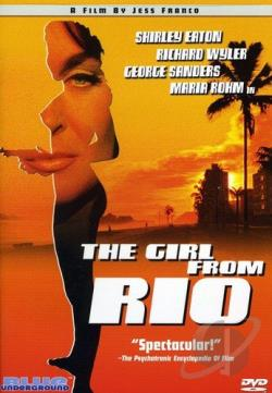 Future Woman: Girl From Rio DVD Cover Art