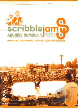 Scribble Jam - Archive Number 1 DVD Cover Art