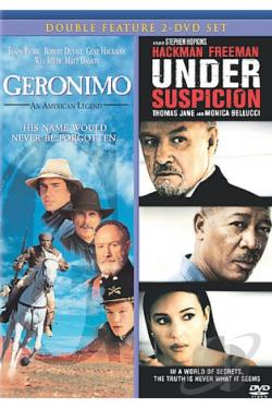 Geronimo: An American Legend/Under Suspicion DVD Cover Art