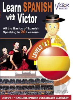 Learn Spanish with Victor DVD Cover Art
