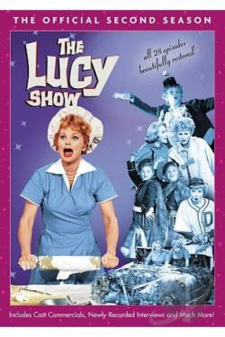 Lucy Show - The Official Second Season DVD Cover Art