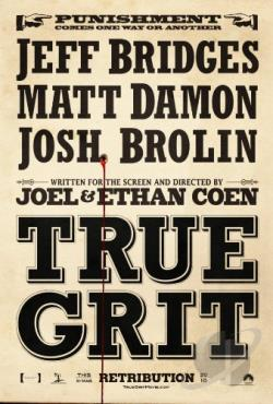 True Grit DVD Cover Art