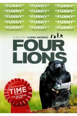 Four Lions DVD Cover Art