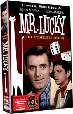 Mr. Lucky - The Complete Series DVD Cover Art