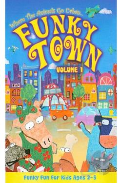Funky Town - Volume 1 DVD Cover Art