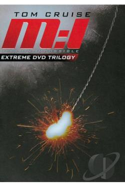 Mission: Impossible - Extreme DVD Trilogy DVD Cover Art