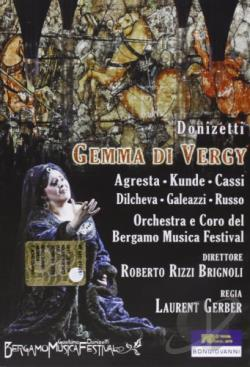 Gemma di Vergy (Bergamo Music Festival) DVD Cover Art