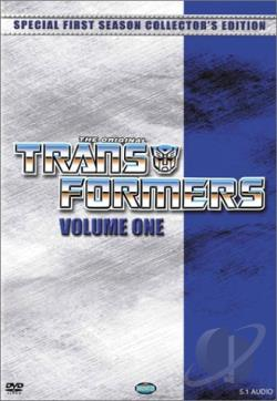 Transformers - Season 1: Vol. 1 DVD Cover Art
