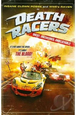 Death Racers DVD Cover Art