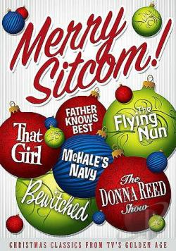 Merry Sitcom!: Christmas Classics From TV's Golden Age DVD Cover Art