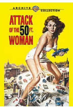Attack of the 50 Foot Woman DVD Cover Art